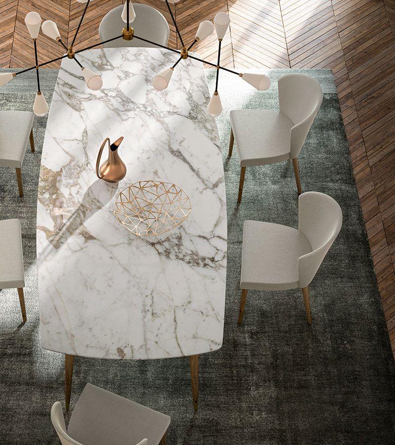 Milan 2019 | Callesella Tavolo in marmo e legno #wood #marble #table ...