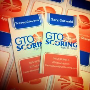 Let the awesome flow for GTO Scoring with a new #logo and #businessCards! #Branding @argyleoctopus