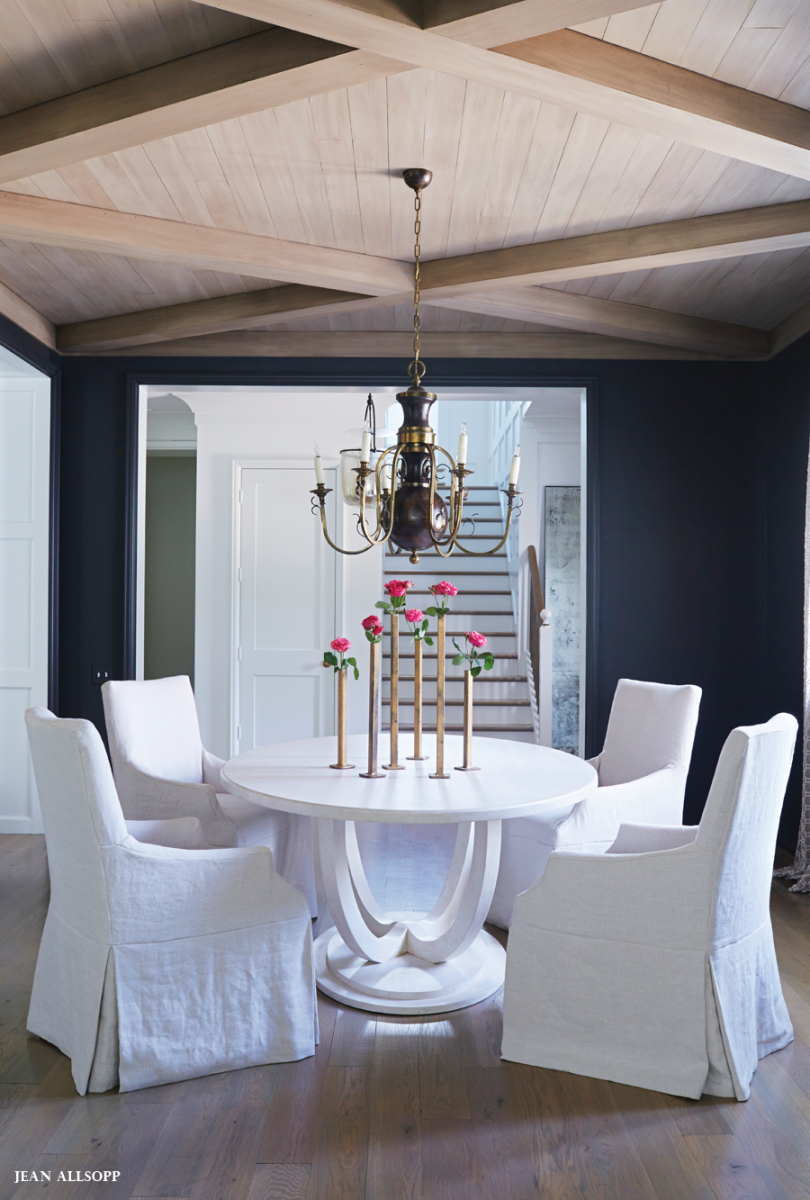 Charcoal Dining Room With White Furniture Dining  Pinterest Cool Charcoal Dining Room Decorating Inspiration