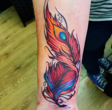40 Inspiring Tattoos For A Fresh Start In The New Year Phoenix Feather Tattoos Feather Tattoo Tattoos