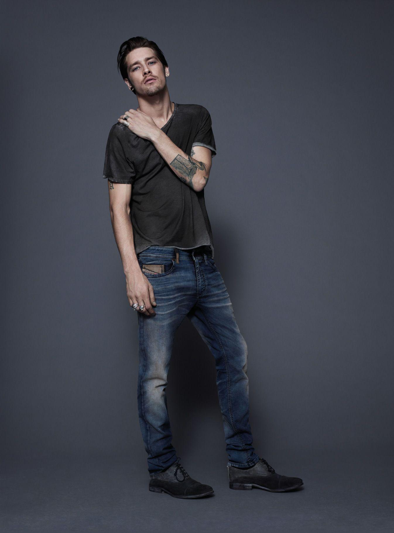 Diesel #jeans: Thavar #joggjeans