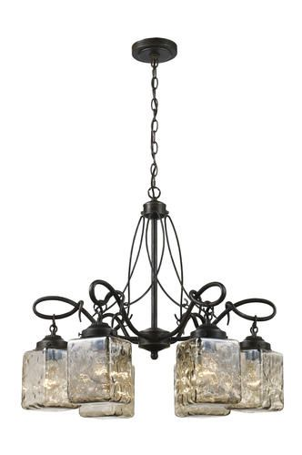 Patriot Lighting Christian 6 Light Antique Bronze Chandelier At MenardsR