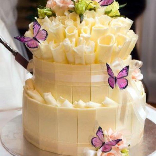 Butterfly cake, elegant and small | Elegant Cakes | Pinterest ...