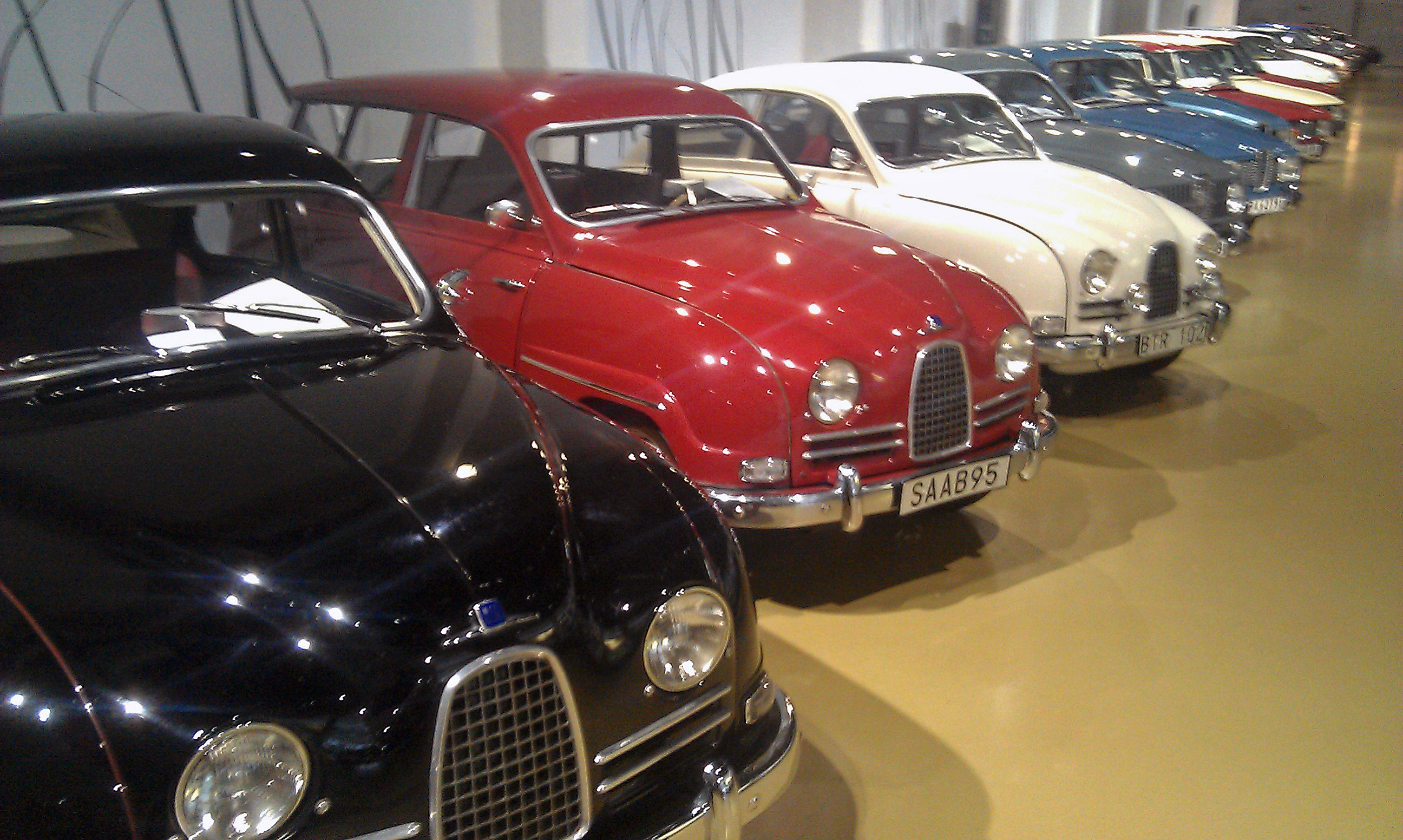 Another Glimpse Inside The Saabmuseum In Trollhättan