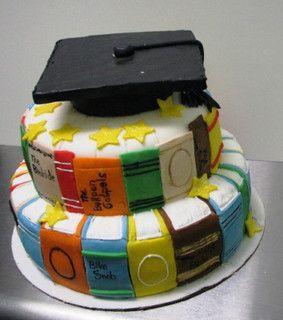 Graduation Cake in 2020 | Book cakes, Open book cakes, Cake
