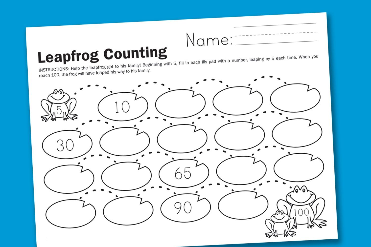 Count By 5 Worksheets To Print