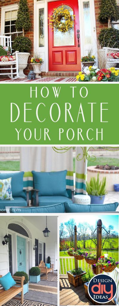 Learn How To Decorate Your Porch And Front Door. Here Are 15 Decorations  For Your Porch That Make Your Home And Your Personality Pop.