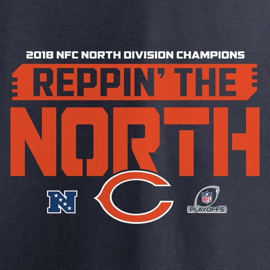 655c278a Chicago Bears 2018 NFC North Champs | Chicago Fans Only | Chicago ...