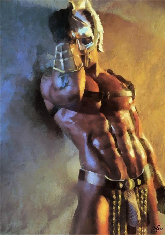 art gladiator Gay