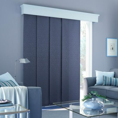 Pin By Blind Advantage On Inspiration Blinds Shades Patio Door Coverings Door Coverings Panel Blinds