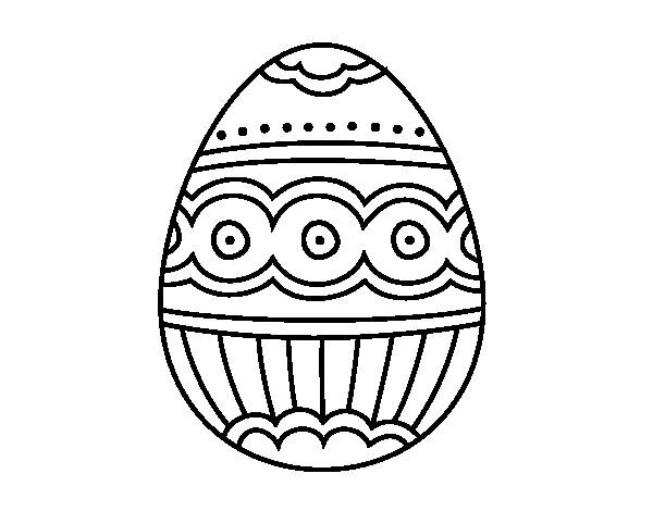 Dibujo De Huevo De Faberge Para Colorear Huevos De Faberge Huevos Pascua Para Colorear