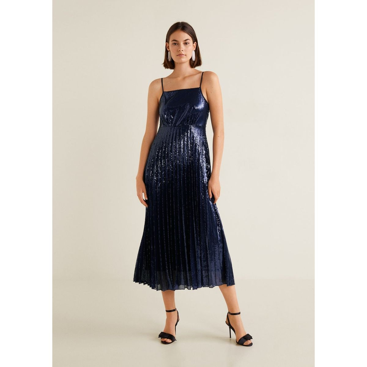 Robe Longue A Sequins Taille 42 38 36 Products Robe Longue Robe Et Fermeture Eclair