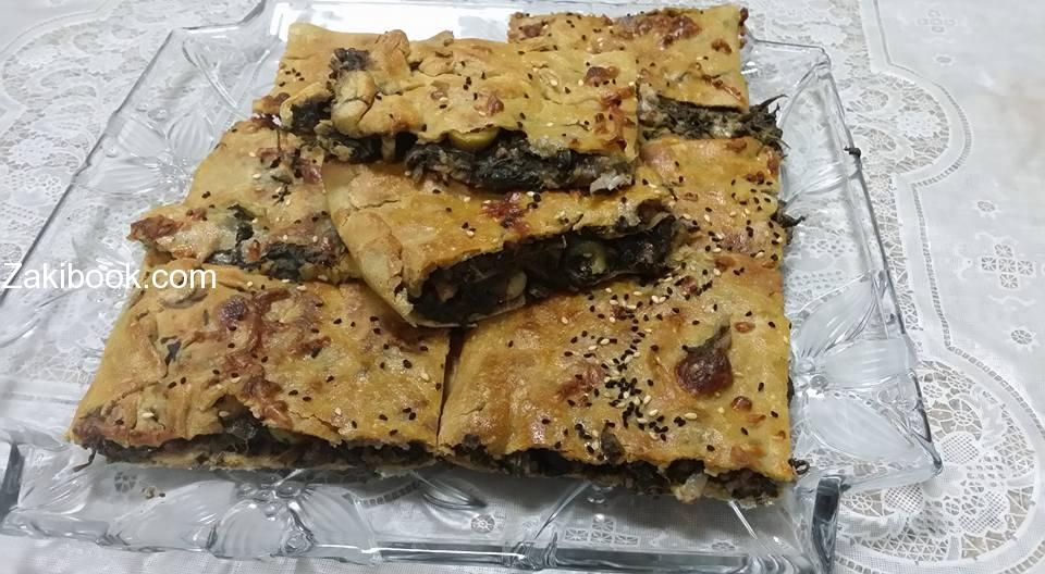 وصفات صحية فطيرة السبانخ بالشوفان زاكي Food Arabic Food Sweet Pastries