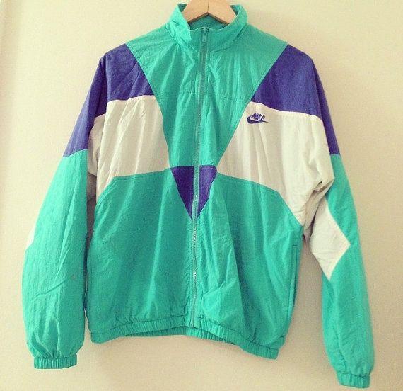 Vintage 1990s Nike Windbreaker Tracksuit One Piece   Windbreaker ... a394fefa43b5