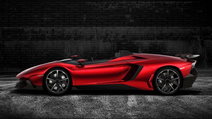 Lambo Aventador J. Think I'm in love