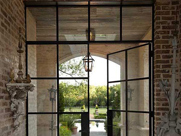 Porte in ferro e vetro per interni cerca con google - Finestre a bovindo ...