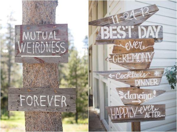mutual weirdness forever wedding sign wedding activity