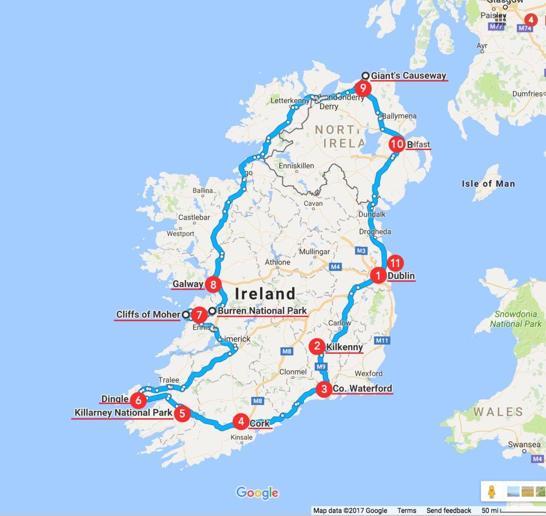 The Perfect Ireland Itinerary Ireland travel, Ireland