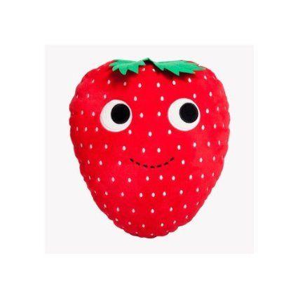 """Yummy World x Kidrobot Sassy Strawberry 10/"""" Plush heidi kenny"""