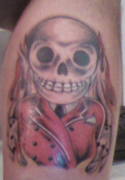 Bone Daddys Tattoo : daddys, tattoo, Daddy, Tattoo, Tattoos,, Skull