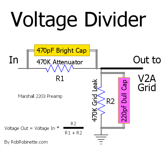 Amp Voicing Diy Guitar Amp Voltage Divider Amp