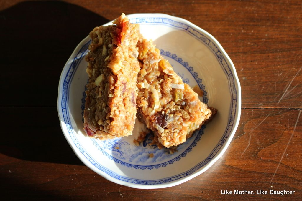 Soaked Oats Granola Bars from Like Mother, Like Daughter: A good Lenten snack!