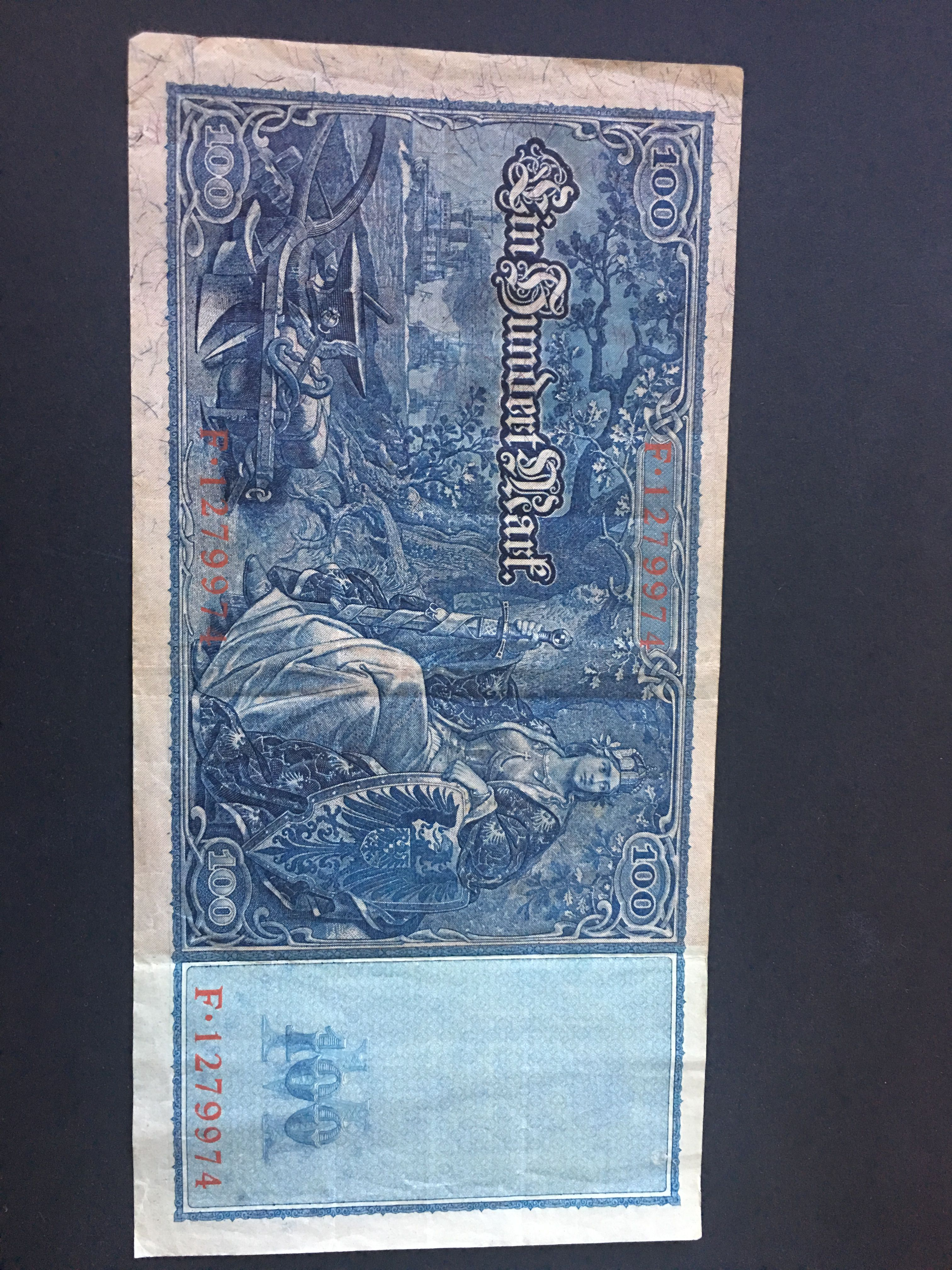Germany 100 mark 1910 Bank notes, The 100