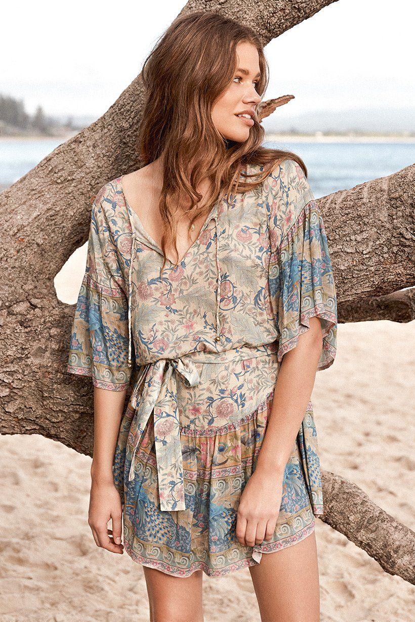 d11e0eda1d08 Spell Designs Oasis Mini Dress | Dresses | Ruffle shorts, Short ...