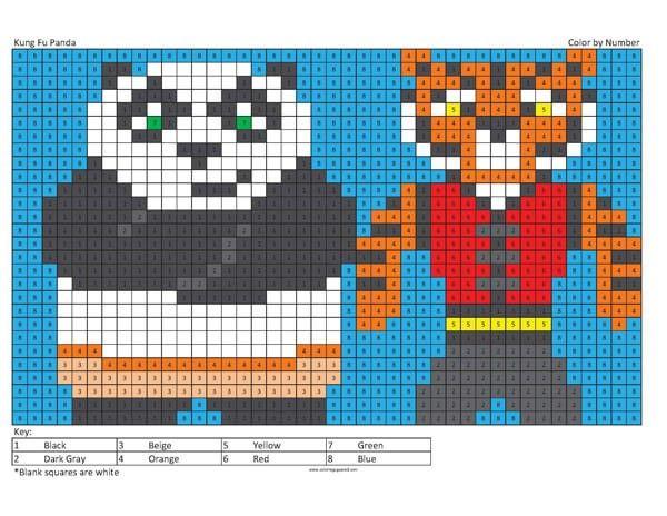 Megapixel Characters | Pinterest | Kung fu panda