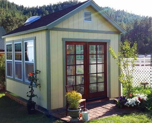 Delightful Tuff Shed Living