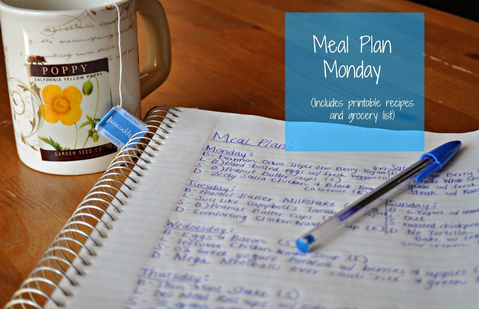 Darcie's Dishes: Meal Plan Monday: 4/27-5/3/14 #thm #trimhealthymama #mealplan #frugal