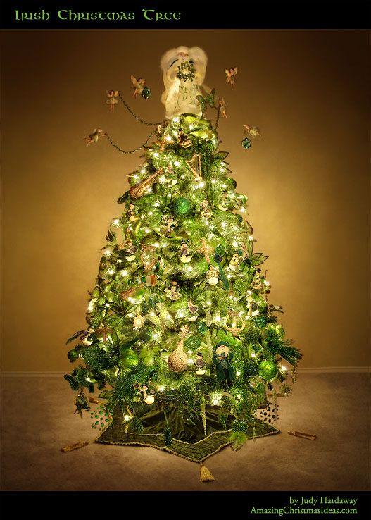 Irish Christmas Traditions.Decorating An Irish Themed Christmas Tree Amazing