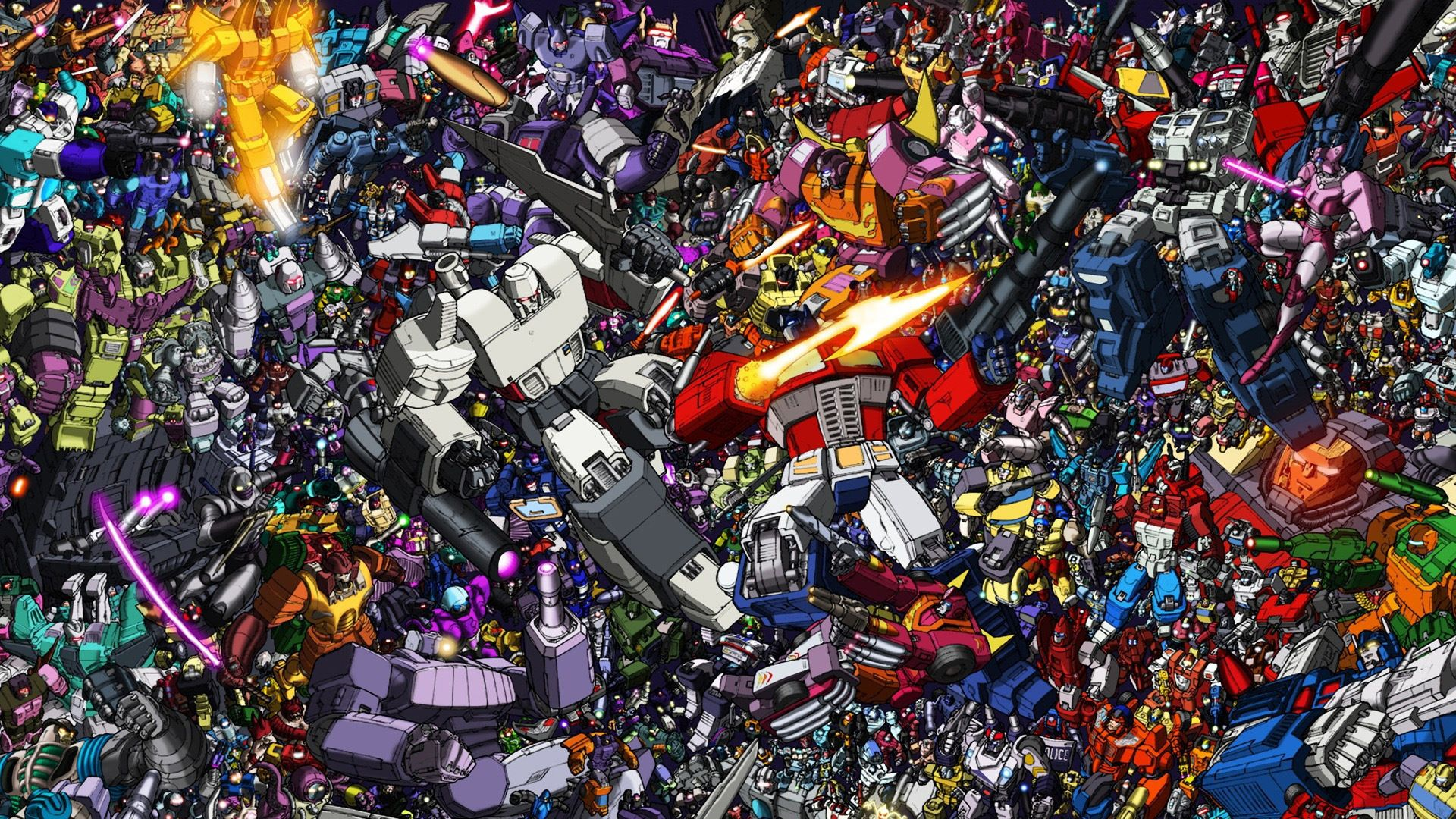 Transformers G1 Wallpaper Cartoon Wallpaper Transformers Canvas Transformers Artwork