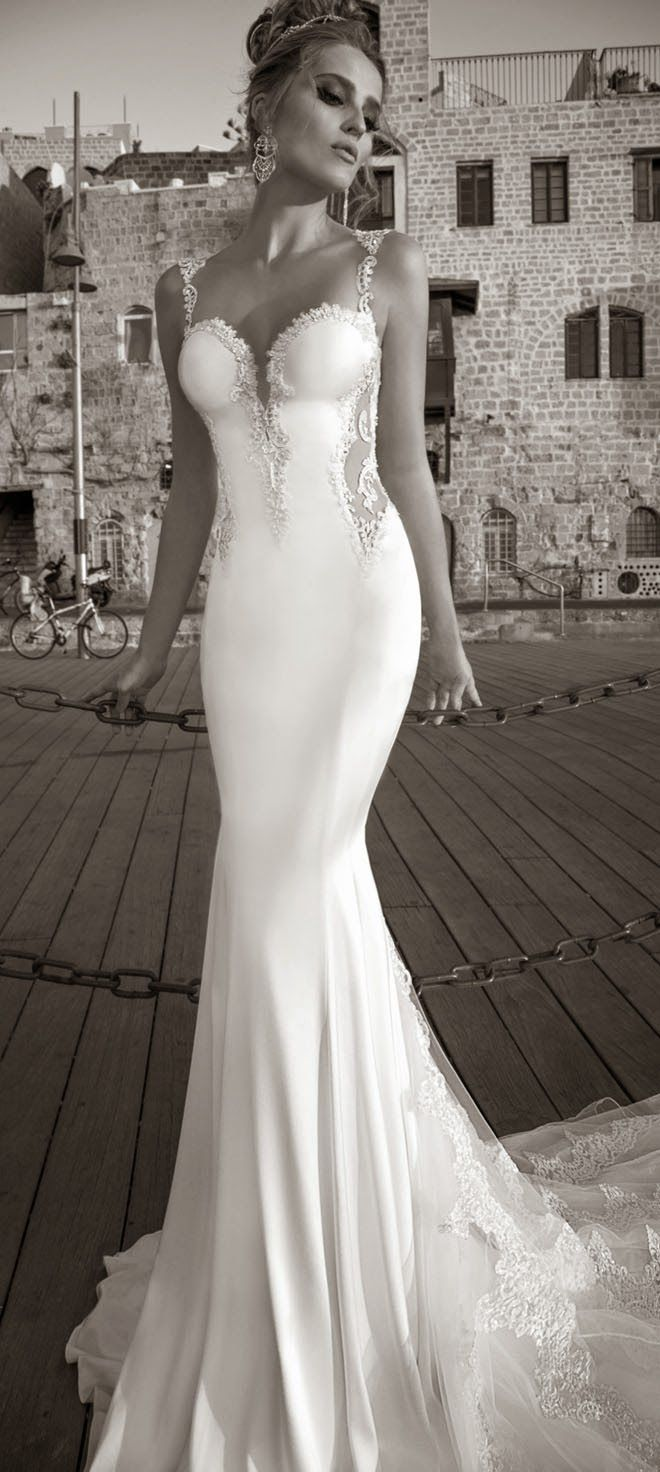 50 gorgeous wedding dresses with train galia lahav wedding dress galia lahav spring 2015 la dolce vita bridal collection bellethemagazine junglespirit Images