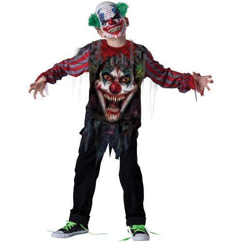 Psycho Clown Child Halloween Costume Halloween  Walmart.com  sc 1 st  Pinterest & Psycho Clown Child Halloween Costume: Halloween : Walmart.com | Kid ...
