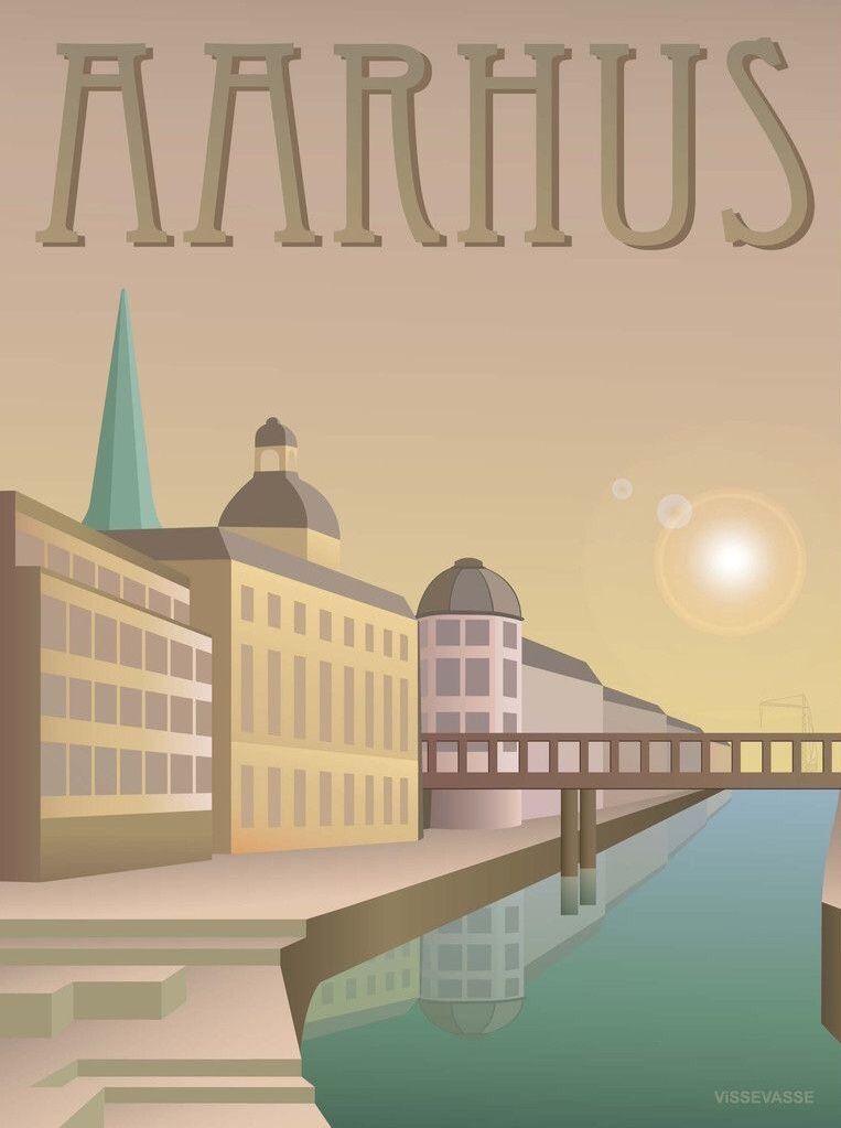 Aarhus Denmark Aarhus Travel Prints