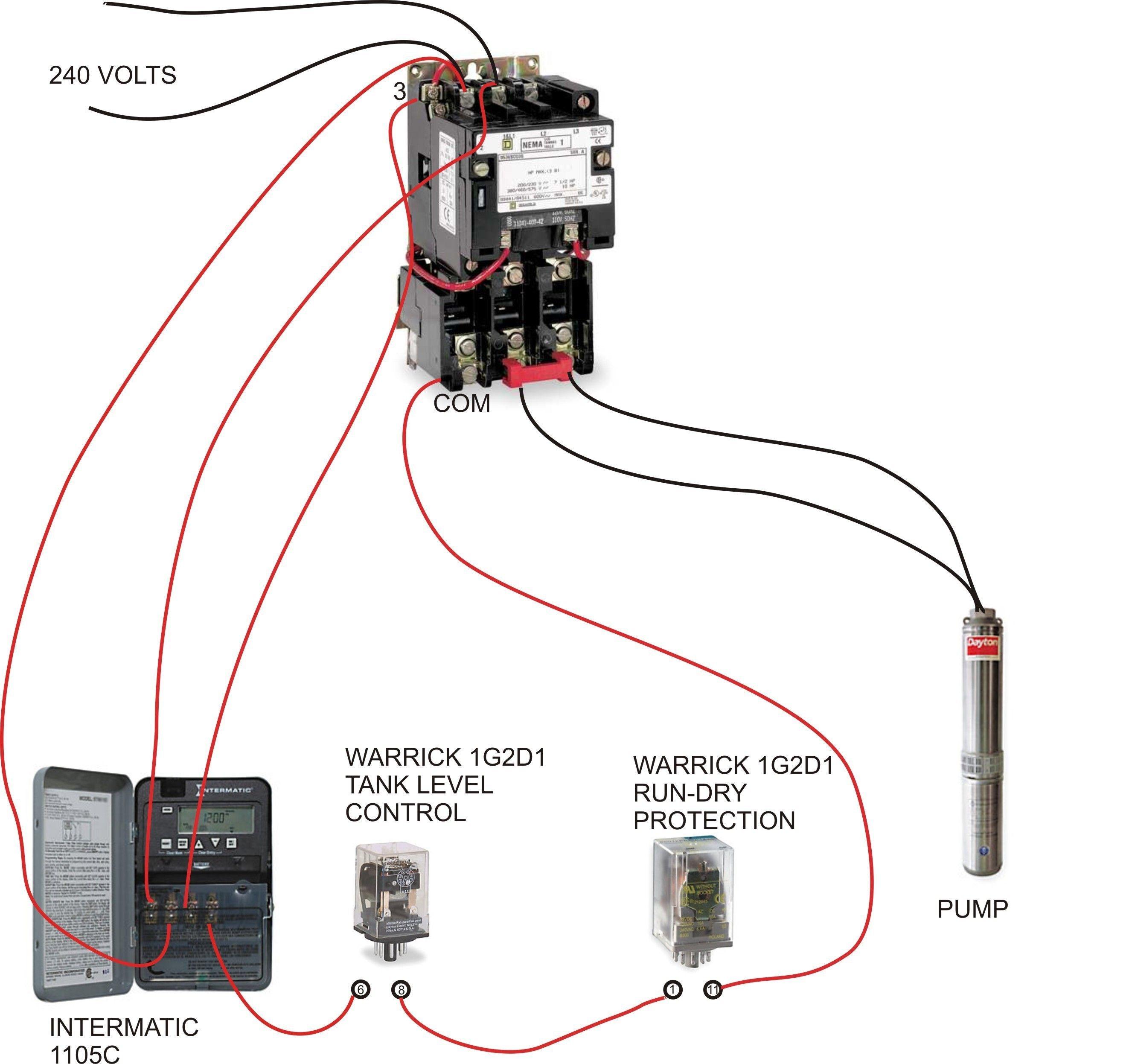 Irrigation Pump Start Relay Wiring Diagram In 2020 Well Pump Electrical Wiring Diagram Irrigation Pumps