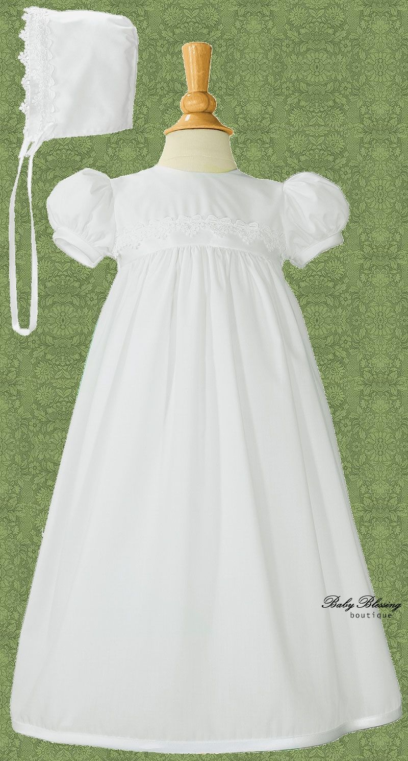 Dana – LDS Baby Girl Blessing Dress