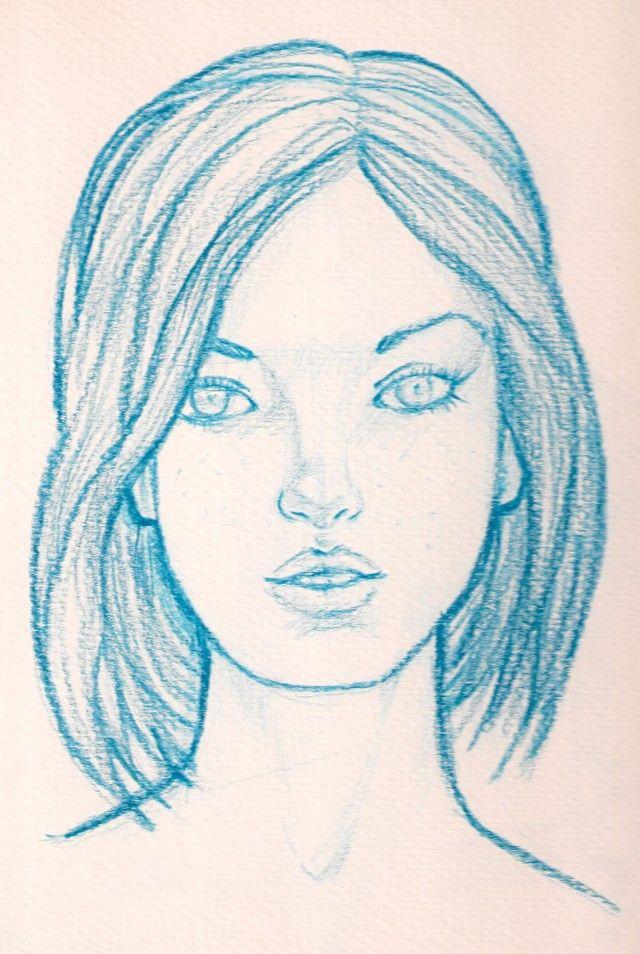 Dibujo Lapiz Rostros Mujer Graffiti Dibujos En 2019 Drawings