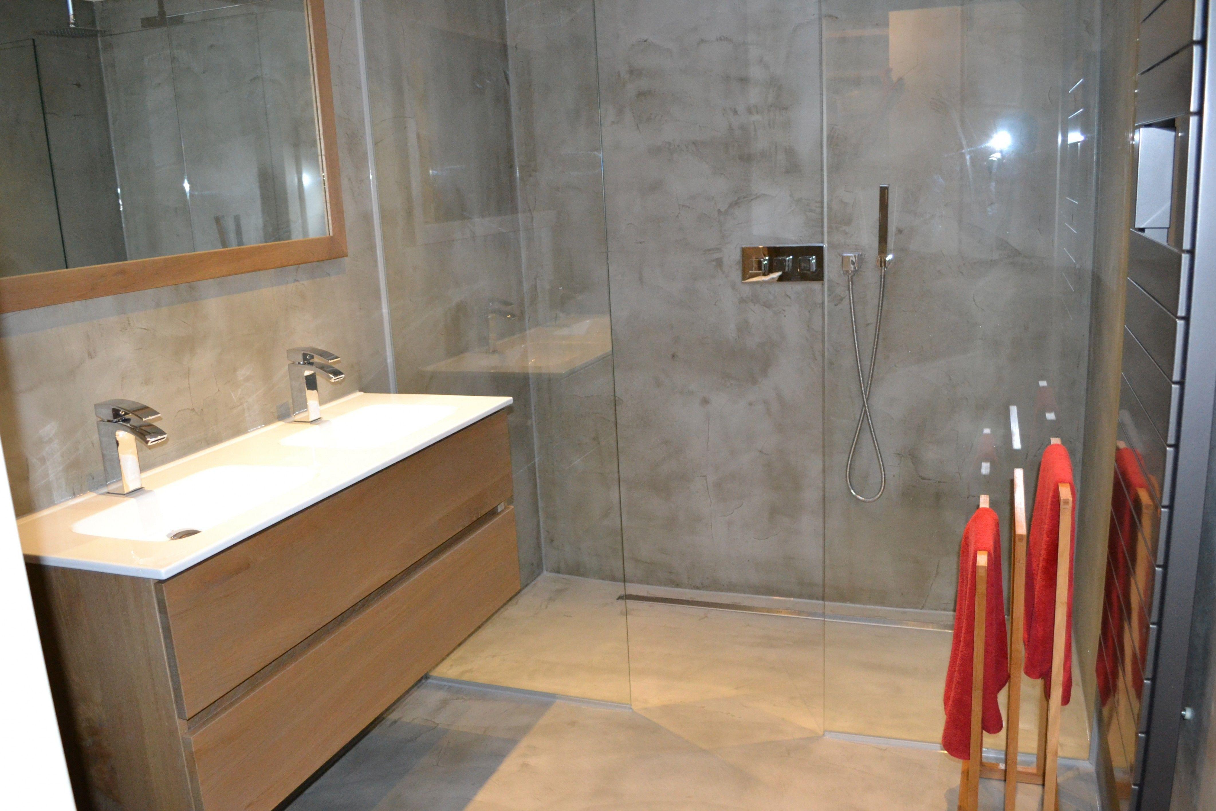 Afbeeldingsresultaat Voor L Vorm Badkamer Badkamer Beton Cire Badkamer Badkamer Betonlook