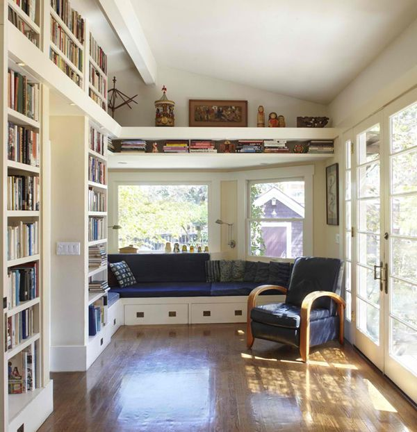 home-library-open-space-ideas Most Beautiful Home Libraries
