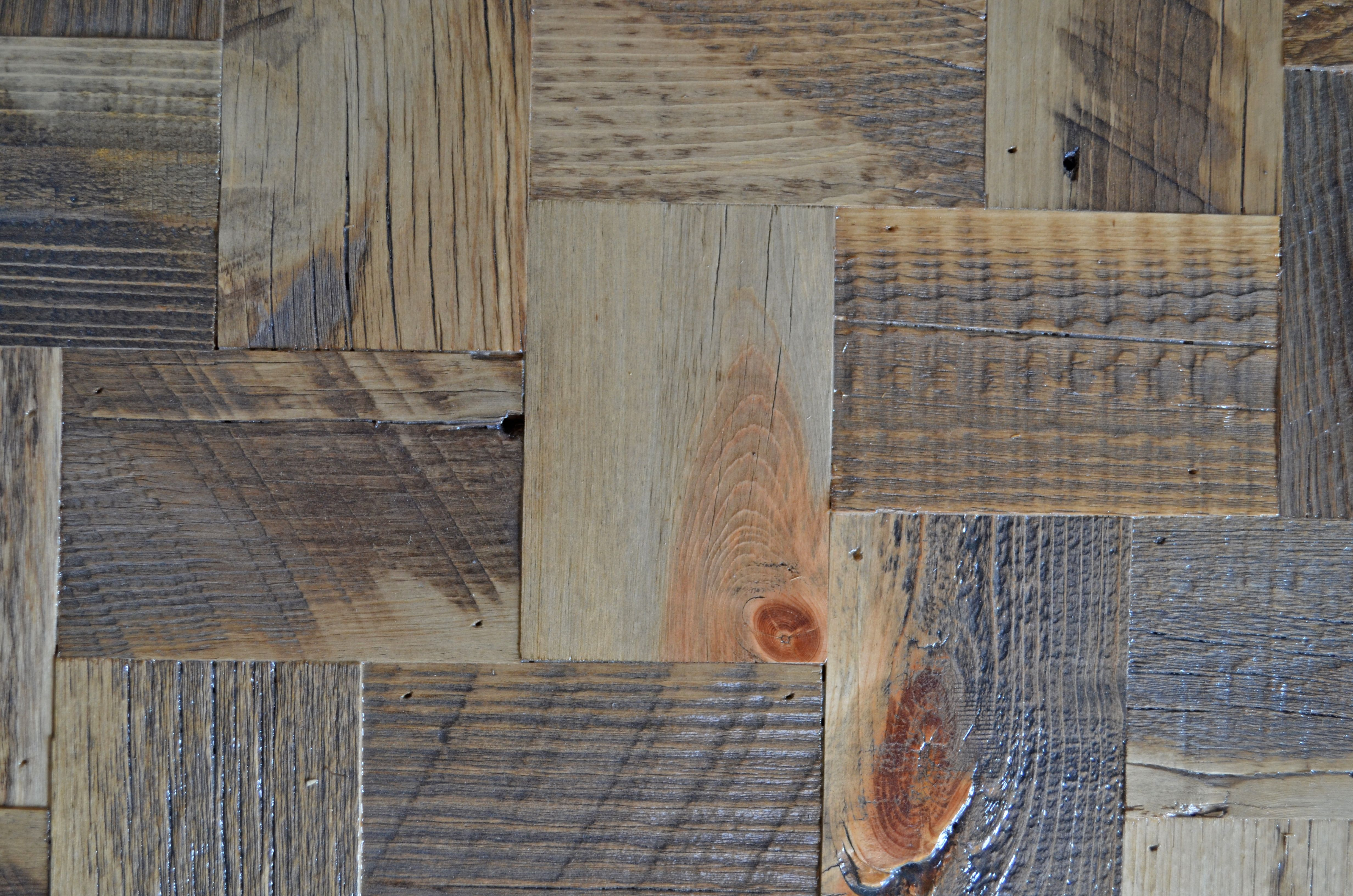 Weave Pattern Created From Reclaimed Wood Reclaimed Wood Paneling Wood Wood Paneling