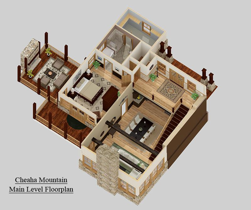 Small House Floor Plans · #3D #Floorplan | Would Make Great Content For A  NimblePitch Interactive Map: Http