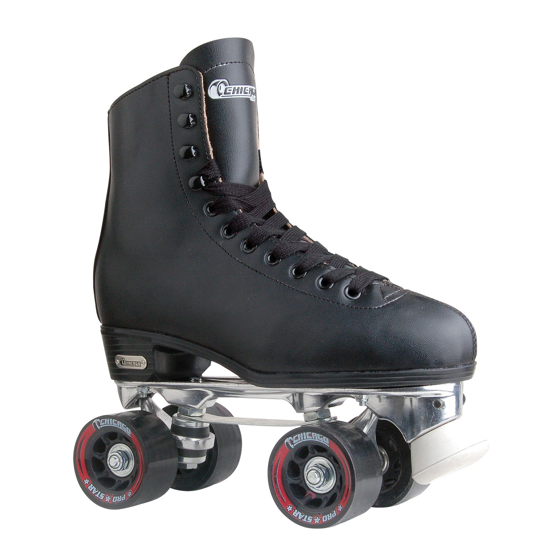 Riedell 111 Fame Roller Skates Traditional High Top Artistic Skate White Wheels