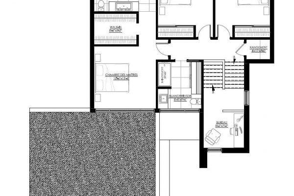 Plan de Maison Moderne Ë_136 Leguë Architecture capo Pinterest
