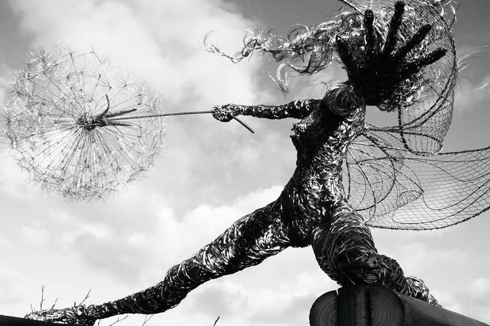 Wire Sculpture by Fantasywire | Robin WIGHT | Pinterest | Robin ...