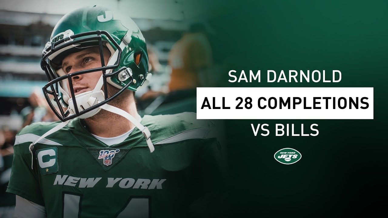 All 28 Sam Darnold Completions In Week 1 Vs. BIlls New