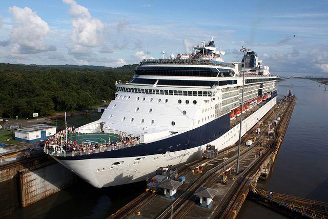 Panama Canal Gatun Locks Celebrity Cruise Ships Jamaica Cruise Cruise Ship
