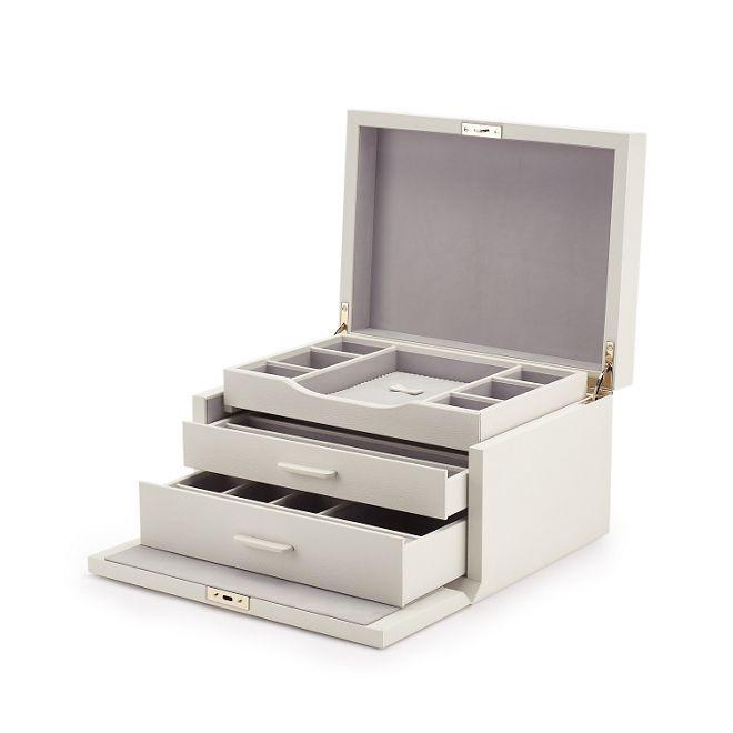 30097a10e8c9 Grosvenor 3 Drawer Jewellery Box - Smythson