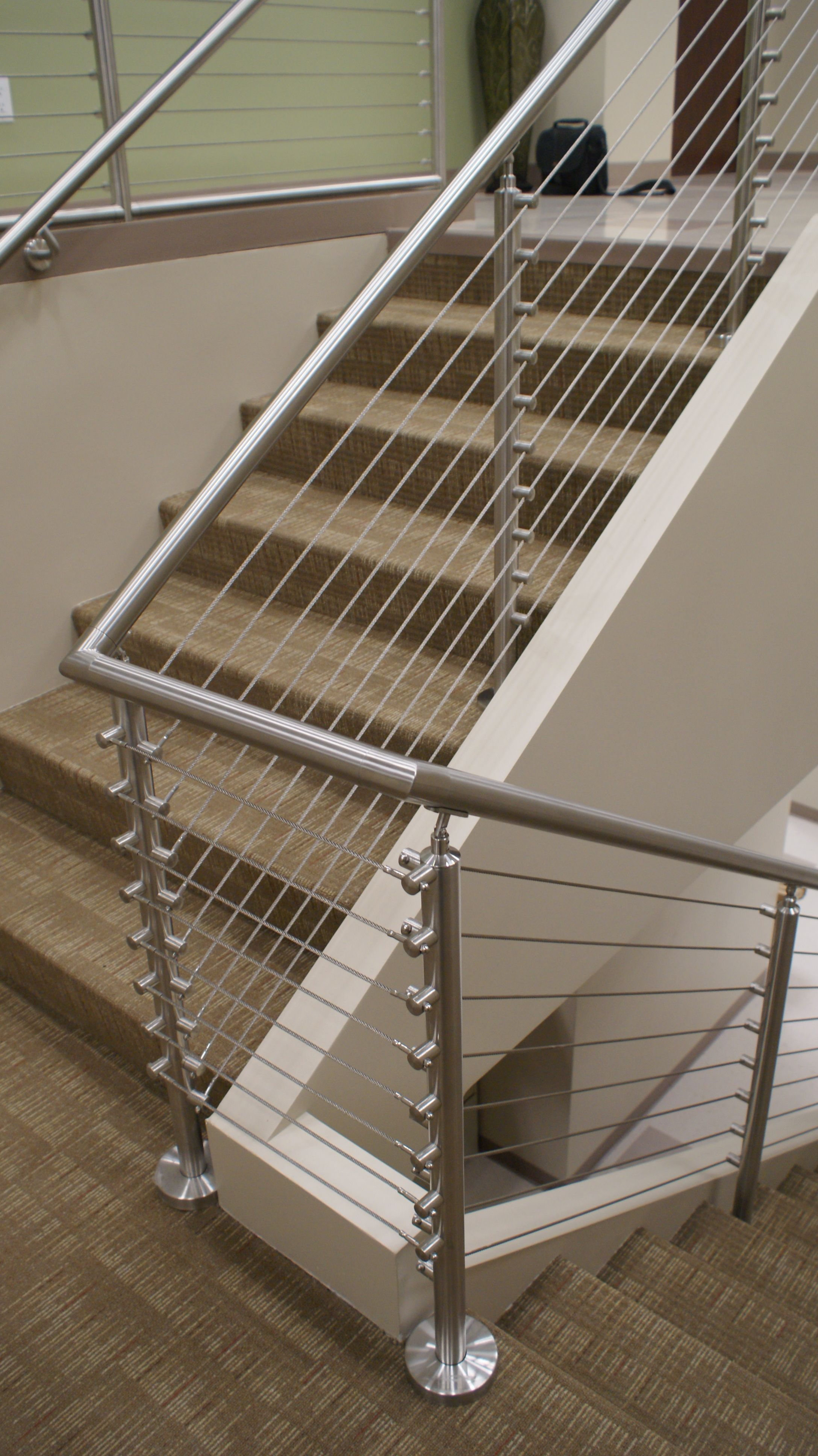 Best Stainless Railing W Aircraft Cable Steel Railing Design 400 x 300